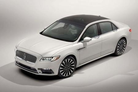 Lincoln Continental в новом кузове