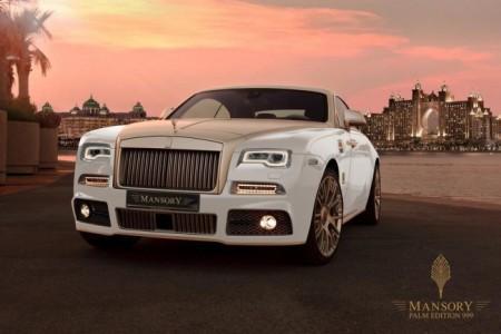 Rolls-Royce Wraith Palm Edition 999 от Mansory