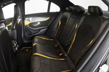 интерьер Mercedes-AMG C63 S от Brabus - салон