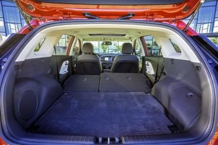 KIA Niro - багажник
