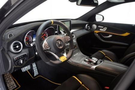 Mercedes-AMG C63 S Brabus - салон