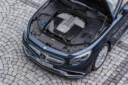 Mercedes-AMG S 65 Cabriolet - двигатель