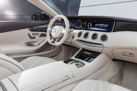 Mercedes-AMG S 65 Cabriolet - салон