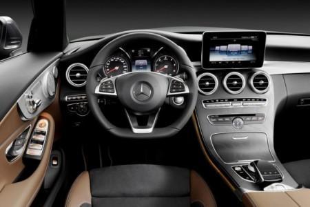 Mercedes C-класс кабриолет - салон