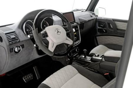 Mercedes G500 Brabus - салон