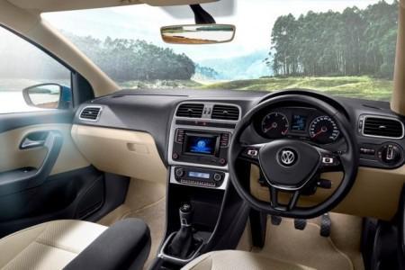 Volkswagen Ameo - салон