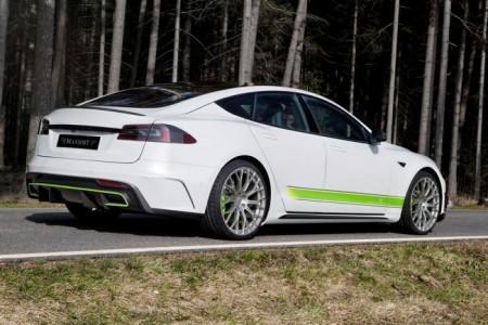 диски Mansory для Tesla Model S