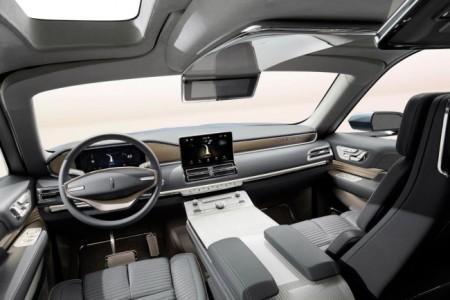 концепт Lincoln Navigator - салон