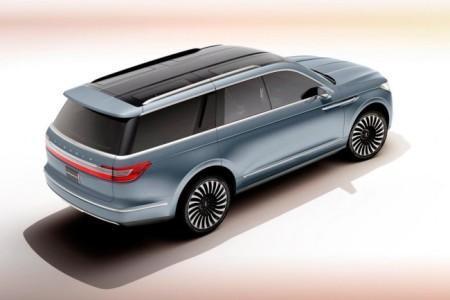 концепт Lincoln Navigator 4 поколения