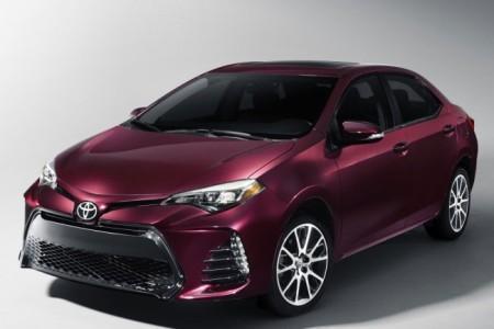 Американская версия Toyota Corolla 2017