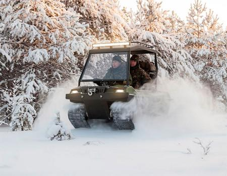 снегоболотоход Тингер Скаут
