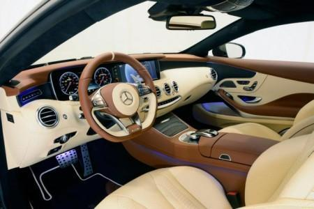 тюнинг салона Mercedes-AMG C65 купе от Brabus