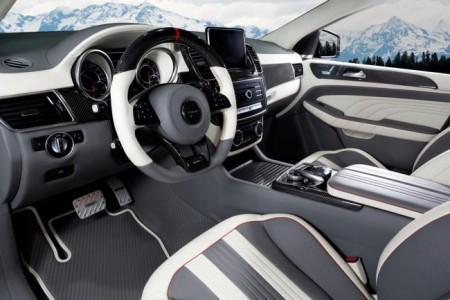 тюнинг салона Mercedes-AMG GLE 63 Coupe от Mansory