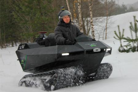 снегоболотоход Пелец Мини 2