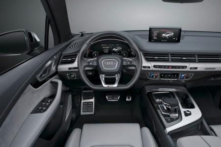 Audi SQ7 TDI - салон