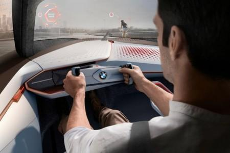 BMW Vision Next 100 - салон