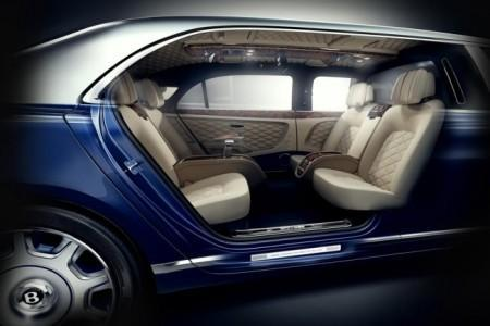 Bentley Mulsanne Grand Limousine by Mulliner - интерьер