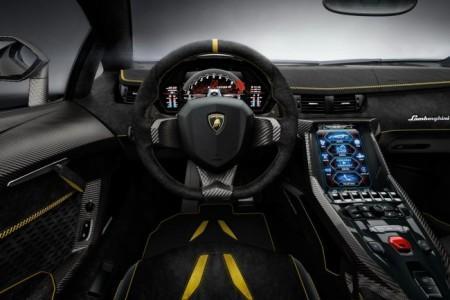 Lamborghini Centenario - салон