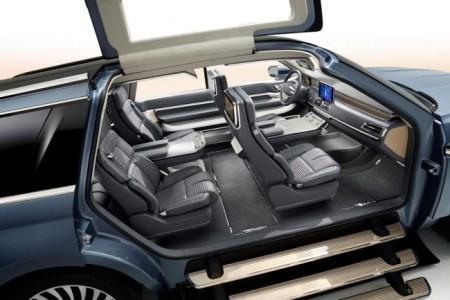 Lincoln Navigator 4 - концептуальный интерьер