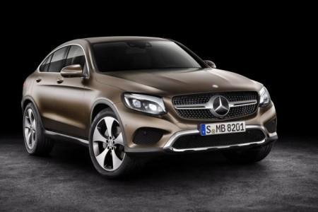 Mercedes GLC в кузове купе