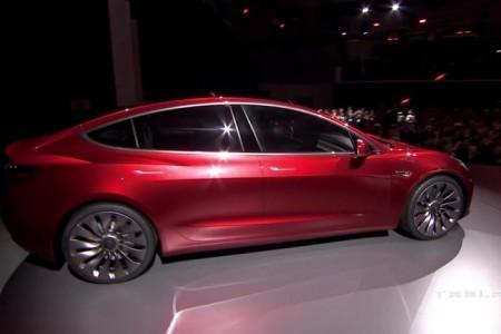 презентация нового Tesla Model 3