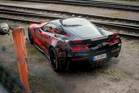 тюнинг Corvette Z06 от BBM Motorsport