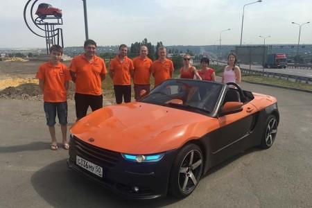 автомобиль Крым на дорожных тестах