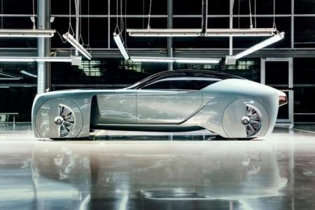 автомобиль будущего Роллс-Ройс Вижн Некст 100
