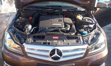 компьютерная диагностика двигателя Mercedes