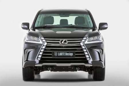 передний бампер Larte Design для Lexus LX 570