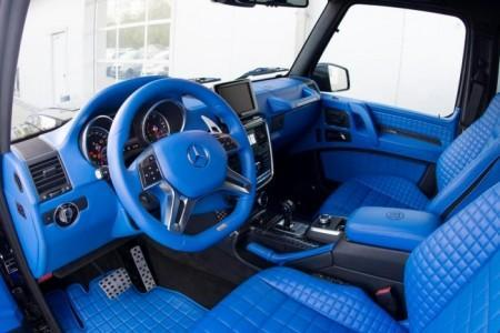 тюнинг салона Mercedes G500 4×4 от Brabus