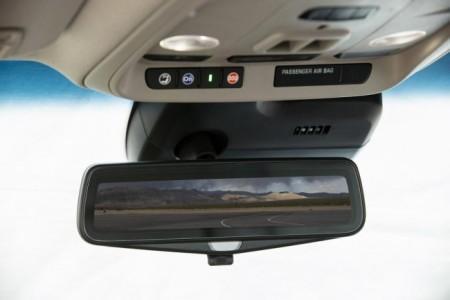 Cadillac CTS - зеркало с камерой заднего вида