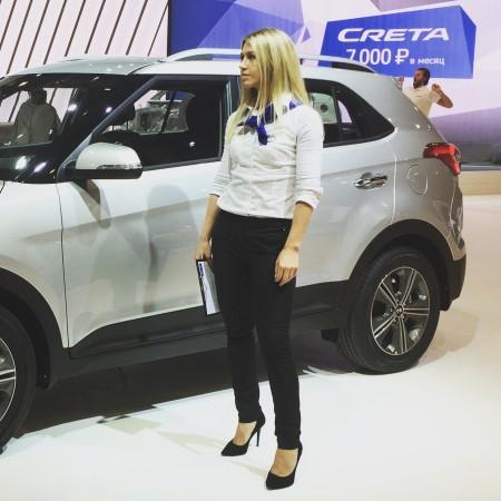Девушка Hyundai Creta ММАС 2016