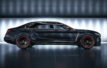 тюнинг Mercedes-Maybach S600 от Scaldarsi Motors