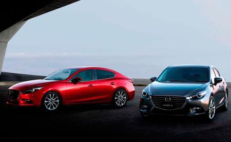 Mazda 3 2017 в кузовах седан и хэтчбек