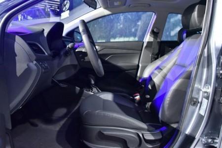 Hyundai Solaris 2 - интерьер