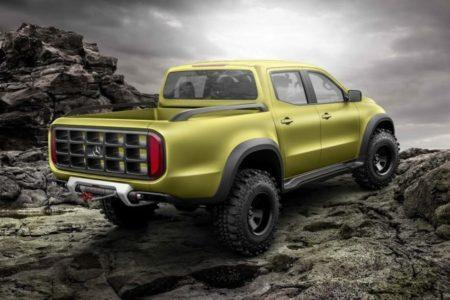 пикап Mercedes X-Class Powerful Adventurer