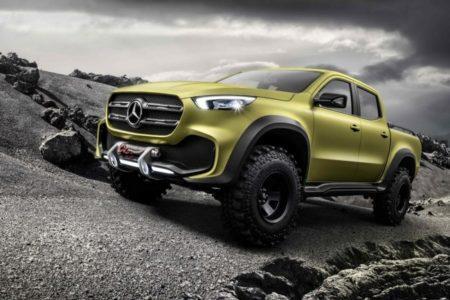 Mercedes X-Class Powerful Adventurer
