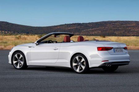 Audi A5 Cabriolet 2 в новом кузове