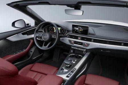Audi A5 Cabriolet 2 - салон