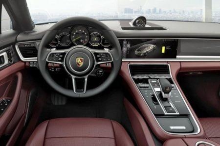 Porsche Panamera 2 Turbo Executive - салон
