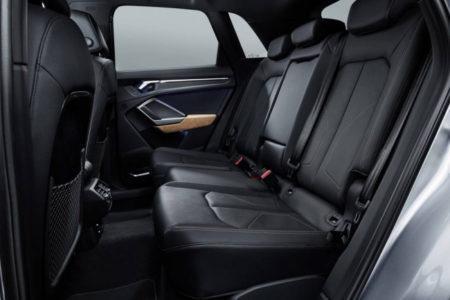Audi Q3 2 поколения - задний ряд сидений
