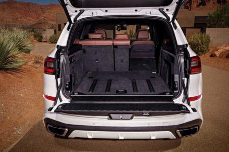 BMW X5 2019 в кузове G05 - багажник