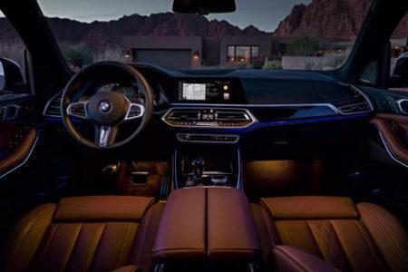 BMW X5 2019 в кузове G05 - салон