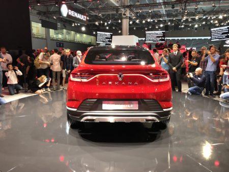 Renault Arkana - задние фонари