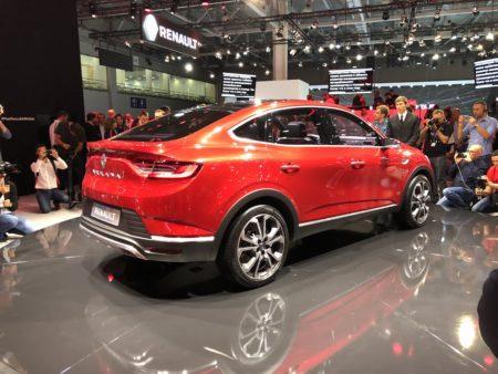 Renault Arkana - внешний вид