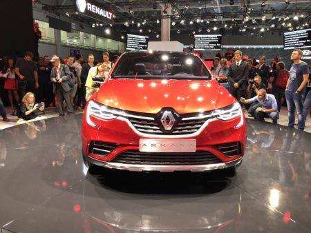 Renault Arkana - вид спереди