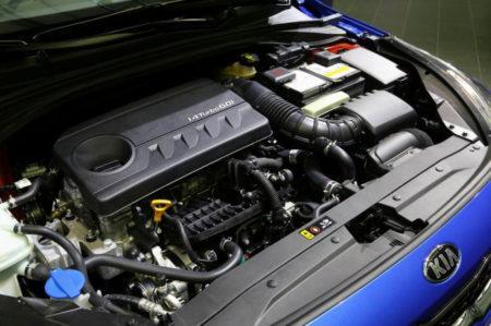 KiaCeed2018 - двигатель