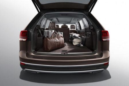 Volkswagen Teramont 2018 - багажник