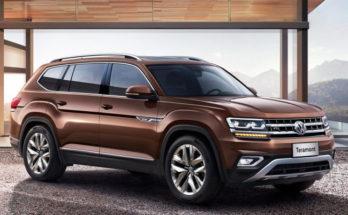 Volkswagen Teramont 2018 - экстерьер
